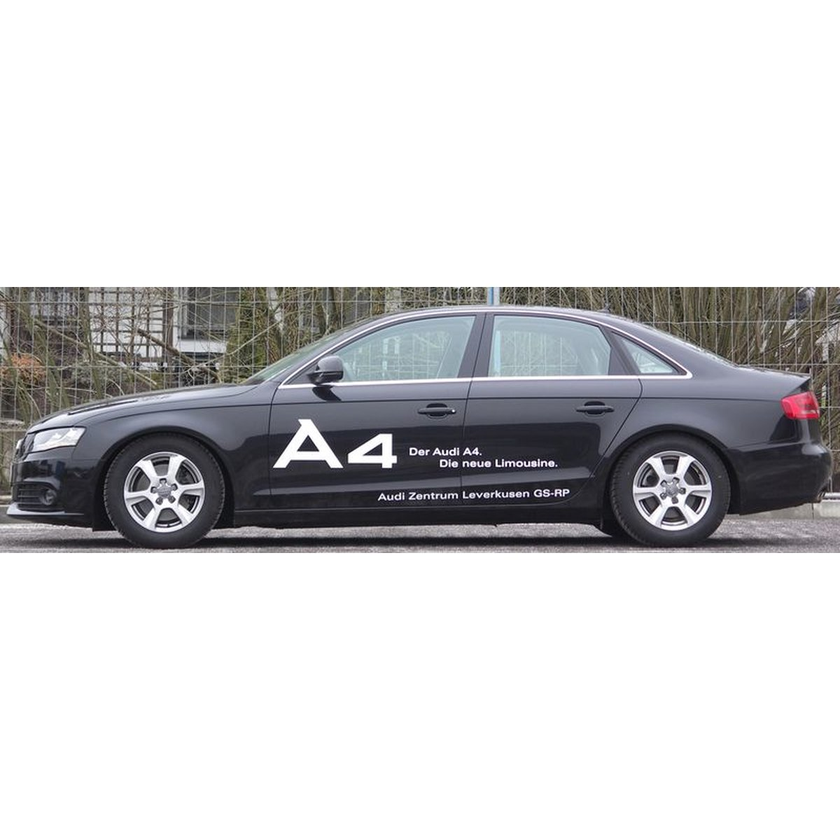 h r gewindefahrwerk monotube audi a4 avant b9 15 klemmung 53mm. Black Bedroom Furniture Sets. Home Design Ideas